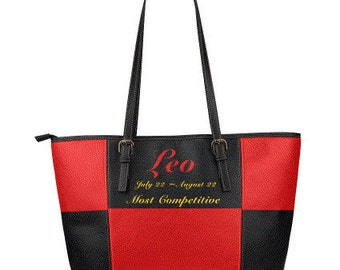 Sandra Burchette Signature Leather Large Tote Bag The Competitive Leo