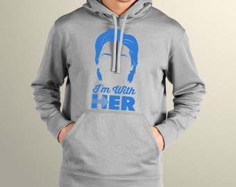 Hillary Clinton I'm With You Men's Hoodie