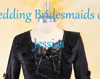 Bridesmaid Dresses for Wedding of Jessica