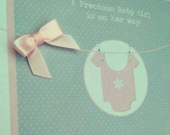 Little vest - baby shower