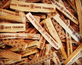 Give thanks palo santo