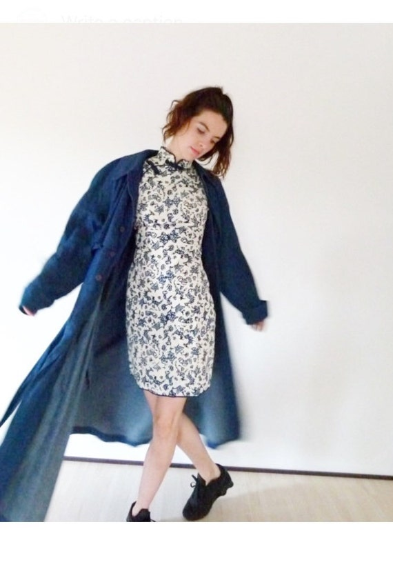 60s Cheongsam Dress