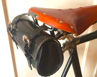 The Black Tourist Saddle Bag