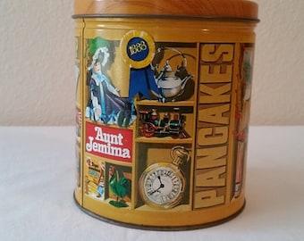 Aunt Jemima Limited Edition Tin 1984