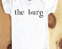 the burg onesie