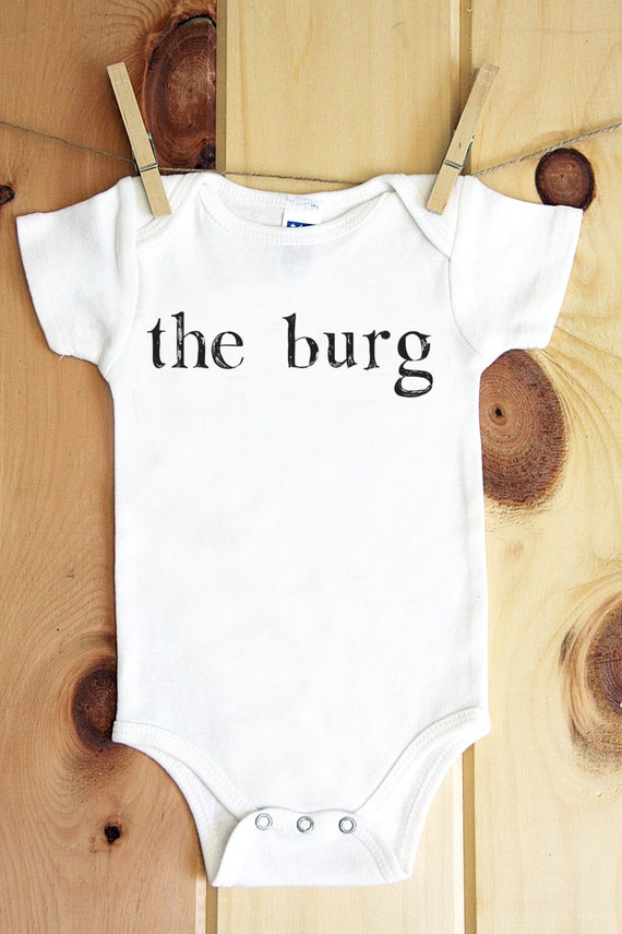the burg onesie