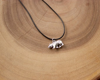Men's Bear Necklace