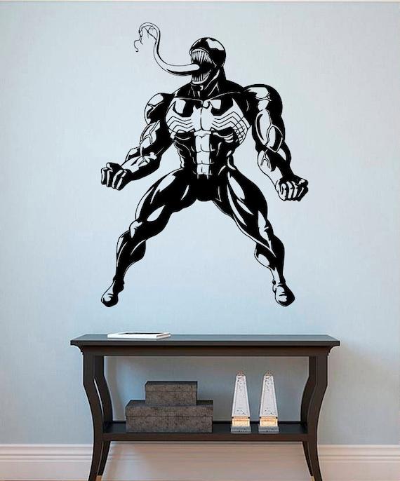 Venom Wall Decal Venom Vinyl Sticker Superhero Wall Decals - Superhero wall decals