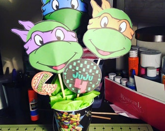 Personalized Character Centerpieces