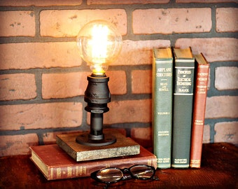 Industrial Lighting - Industrial Table Accent Lamp - Industrial Lamp