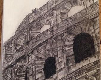 Charcoal Colosseum