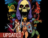 He-Man and the Masters of the Universe - PRINT - UPDATED!!!