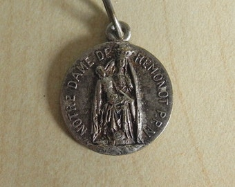 Notre Dame De Remonot Holy Medal France