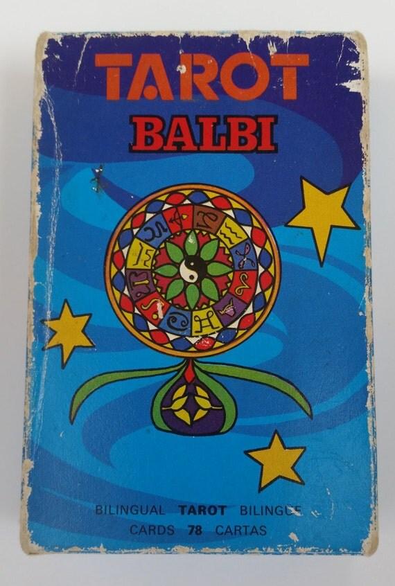 Wonderful Vintage Tarot Balbi Tarot Cards. Vintage Tarot
