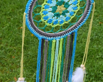 Crochet Pattern Dreamcatcher English and Dutch Make your own Dreamcather DIY Digital Download PDF
