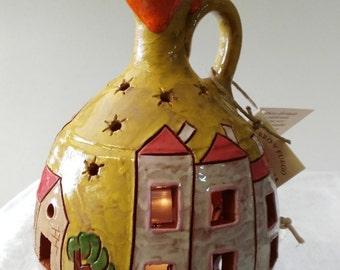 Vase bottle candles