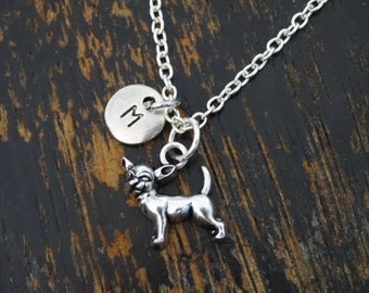 Chihuahua Necklace, Chihuahua Charm, Chihuahua Pendant, Chihuahua Jewelry, Chihuahua Gift, Dog Jewelry, Dog Necklace, Chihuahua Lover