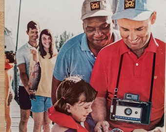 Polaroid Color Pack Camera Magazine Ad from 1968 (AD68-0615-113)