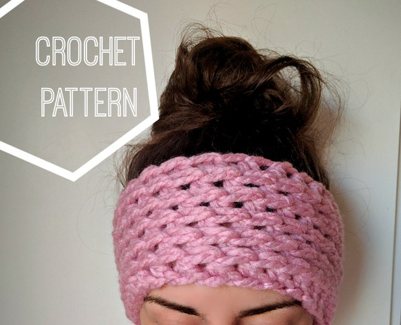 Chunky Crochet Ear Warmer Pattern Ear Warmer Crochet Pattern