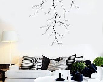 Wall Vinyl Decal Lighting Nature Bedroom Guaranteed Quality Decal 2208di