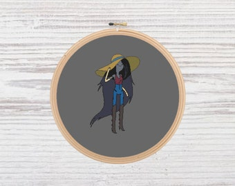 Marceline Cross Stitch Pattern Adventure Time