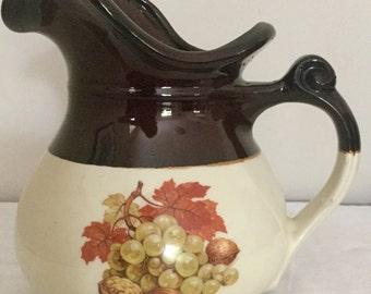 McCoy Pottery - Water Pitcher - Ceramic Pitcher