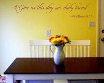 Matthew 6 11 Etsy