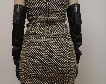 Real Vintage Sequin Dress Eu36