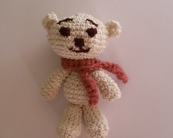 Cute amigurumi bear