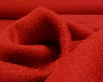 Fire Engine Red Wool Blend