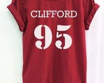 Michael Clifford Shirt 95 5sos Clothing 5 Sos Crimson Red Women Tshirt Tee Short Sleeve T-Shirt SMLXLXXL