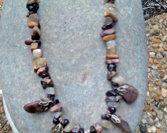 Riverbed ~ SoulSpeaker Charmed Necklace