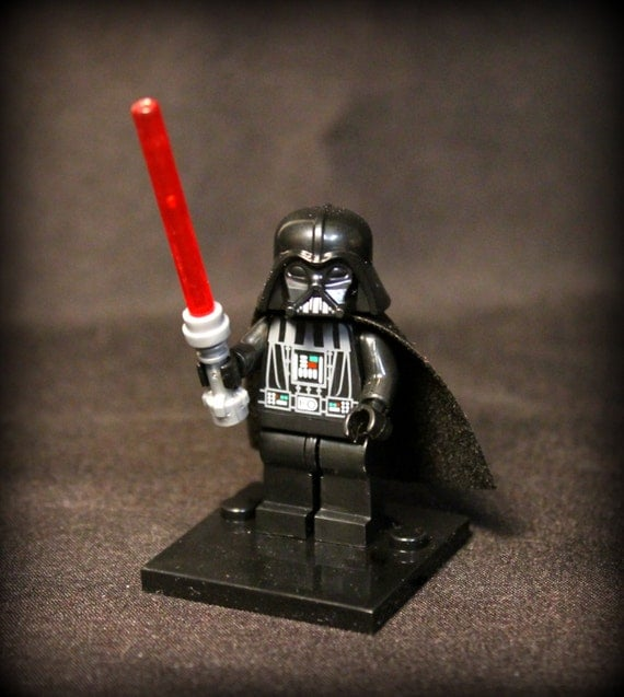 Darth Vader from Star Wars Custom Minifigure. Lego by ...