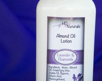 Lavender Chamomile, Lotion,  Homemade, Hand Cream, Body Lotion, Face Cream, Natural Ingredients, Natural Lotion