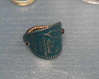 Feather Penny Ring S8