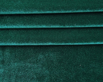 Indian Decorative Velvet Fabric Crafting Dressmaking Sewing Material Supplies Dress Making Silk Craft Green Velvet Fabric By 1 Yard ZVE121A