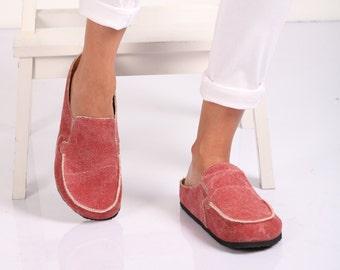 Women's slippers Crew  linen