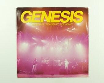 Genesis Tonight, Tonight, Tonight 45 (Promo/Single) Vinyl