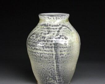 Wood Fired Vase, Porcelain Vase, Flower Vase