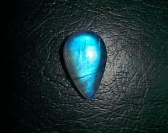 Rainbow Moonstone High Quality Pear Shape Cabochon