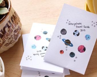 Intergalactic Travel Guide 2015 - Handmade Zine
