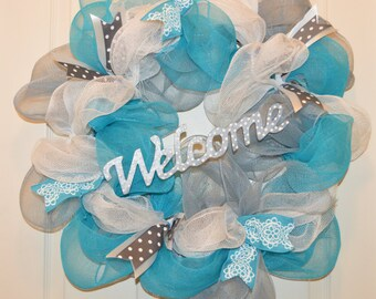 SALE!!!! Welcome Wreath