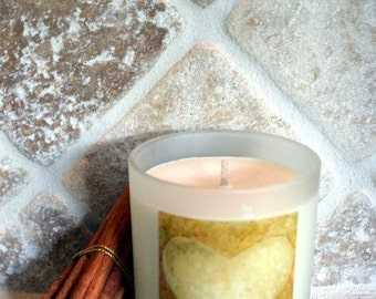 Luxuriously Scented Cinnamon Essential Oil and Soy Candles