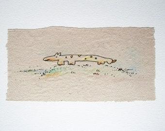 Watercolor, Unique illustration, Colored Pencil, Kids Wall Decor, Art kids,  Children's art