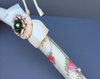 Bridal Padded Hanger, Decorative Hanger, Lingerie Hanger, Vintage Hanger, UpCycled Lace Hanger, Brides Hanger