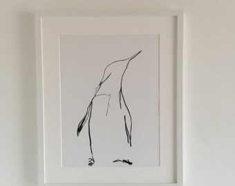 Abrstract Penguin 3