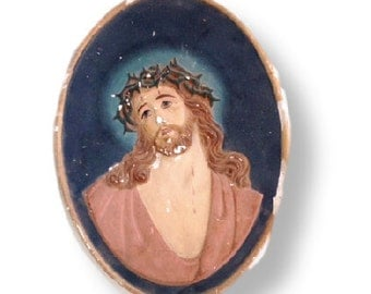Traditional image Jesus-gypsum, religious icon