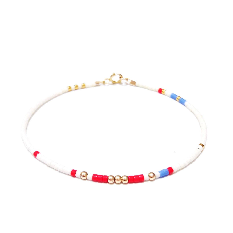 tiny delicate bracelet Layering bracelet delicate friendship