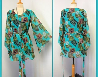 Sassy and Classy,Travel, Escape, Designer Print Limited Edition.Regular Size Tunic Top.