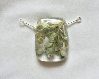Meadow Leaves pendant